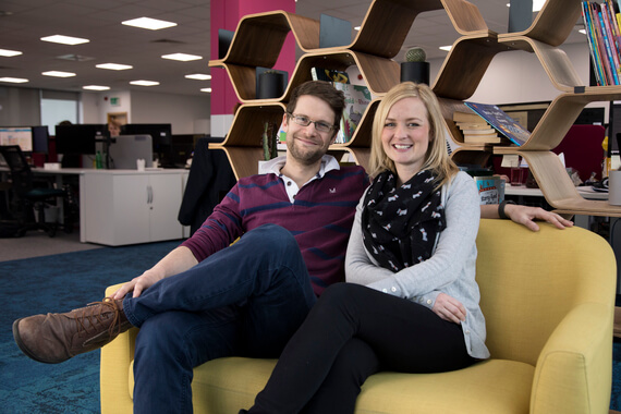 Twinkl Founders Jon & Susie Seaton